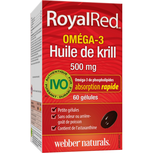 RoyalRed Омега-3 крил масло 1000 mg
