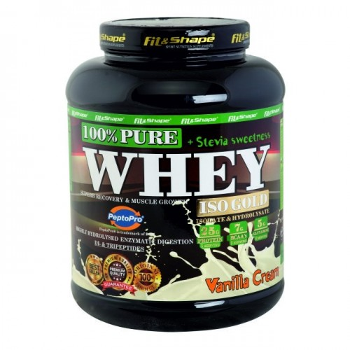 Pure WHEY Iso GOLD - СТЕВИЯ - 900гр